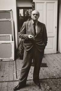 Helga Fietz, Max Beckmann in his Amsterdam studio, 1938. Max Beckmann Archiv.