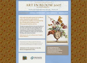 Art in Bloom 2007