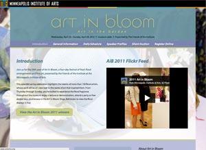 Art in Bloom 2012