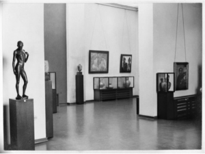 The Folkwang Museum in 1933, before SS officers took it over.