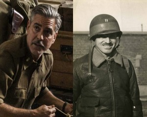 George Clooney as George Stout, the dapper and tireless leader of the Monuments Men.
