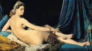 "Ingres's ""La Grande Odalisque,"" from 1814, in the collection of the Louvre."