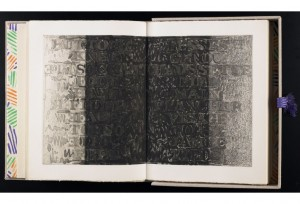 """Foirades/Fizzles,"" a 1976 collaboration between painter Jasper Johns and poet Samuel Beckett."