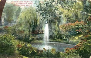 The original Fair Oaks park, what William Washburn dubbed the lush grounds of his estate.
