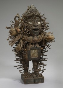 """A """"power figure"""" from the Congo, another of Ackerson's inspirations."""