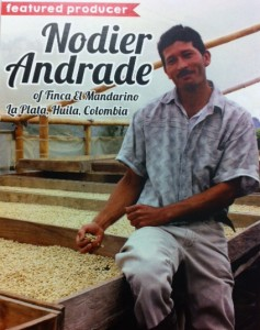 The new release from Dogwood Coffee hails from the farm of Nodier Andrade in Colombia.
