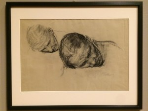 Käthe Kollwitz (German, 1867–1945), Two Studies of a Woman's Head