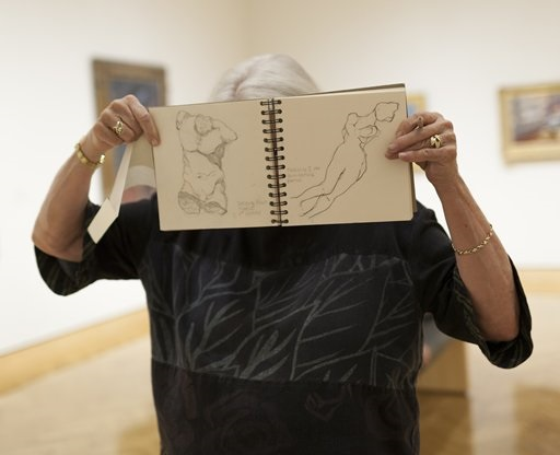Sketching In The Galleries Themes And Purposes Of Art