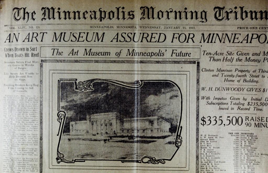 MIA 1; Press Coverage - Building of the Museum
