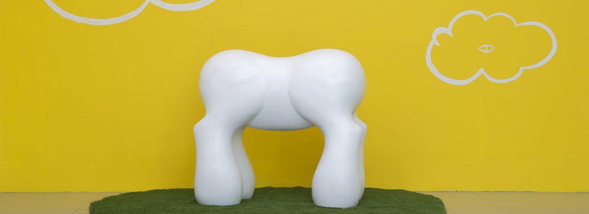 Mark Mothrsbaugh My Little Pony, 2013 Ceramic 53 x 59 x 33 in Courtesy of the artist