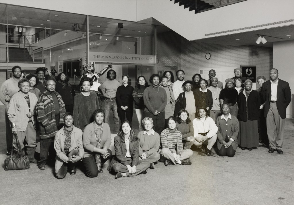 The first group of Collection in Focus guides in 1999.