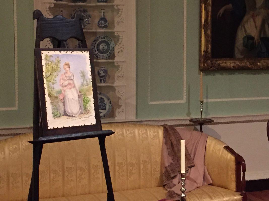 Mystery Portrait: Die Geschichte hinter dem unvollendeten Gemälde in Mias Jane Austen Lesesaal - Minneapolis Institute of Art