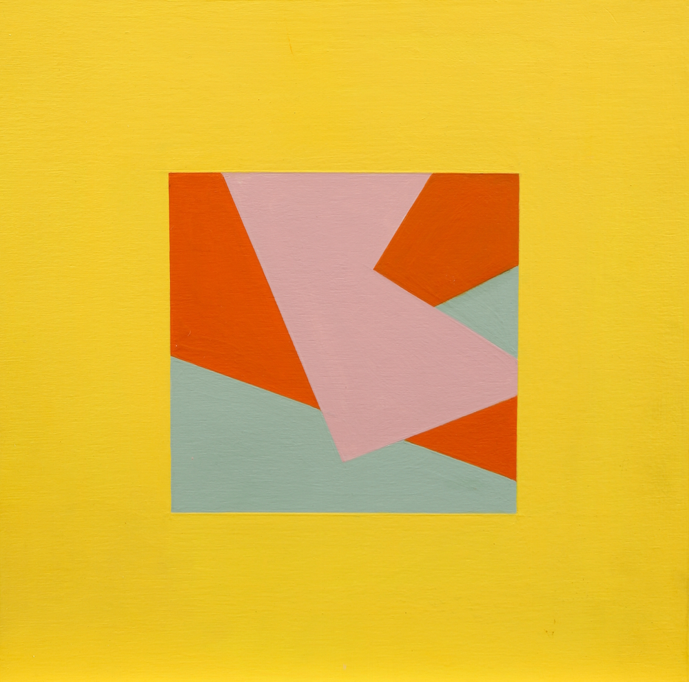Mary Ann Currier, born 1927, Ruminations on the Right Angle 10C, 2013