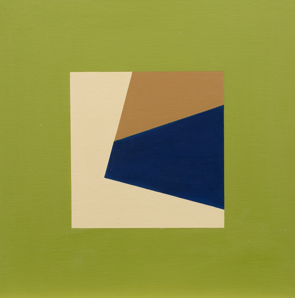 Mary Ann Currier, born 1927, Rumination on the Right Angle 12C
