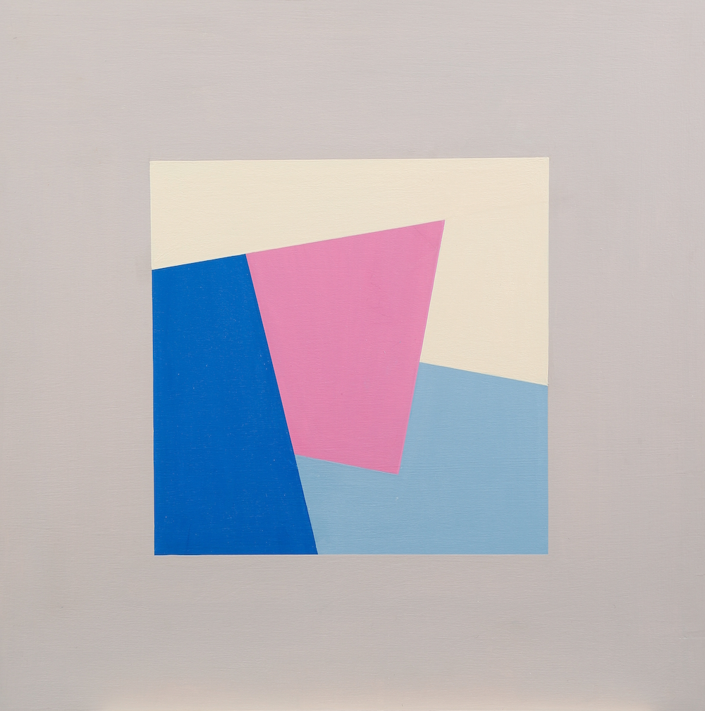 Mary Ann Currier, born 1927, Ruminations on the Right Angle 16C, 2013