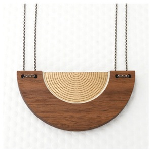 Bauhaus Circle necklace.