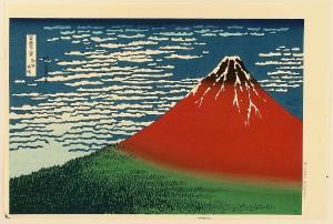 Woodcuts like Hokusai's Mt. Fuji (1831-34) set the course of Dow's life.