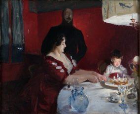 John Singer Sargent, The Birthday Party, 1885?, oil on canvas, The Ethel Morrison Van Derlip Fund and the John V. Van Derlip Fund 62.84