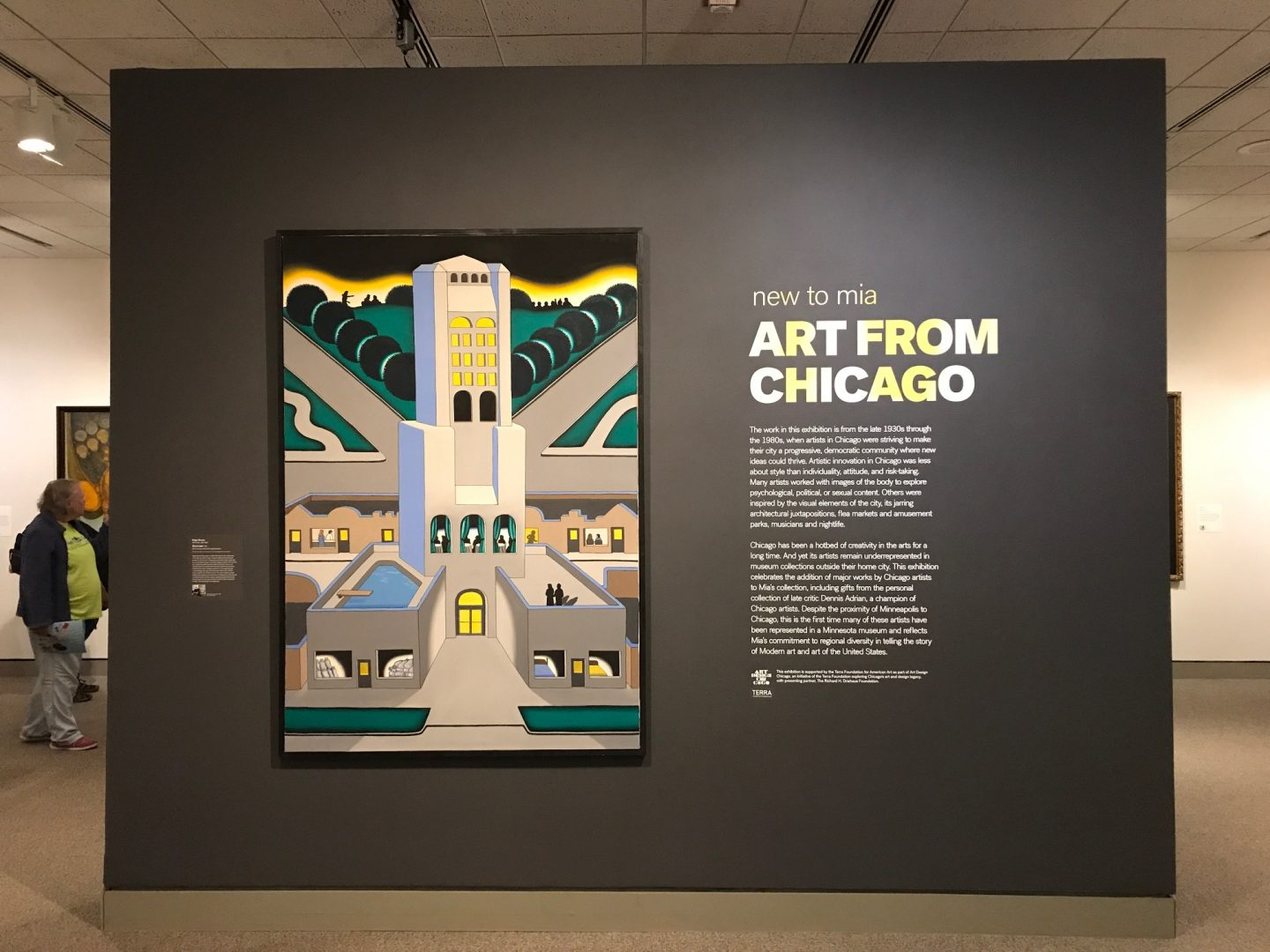 """""""New to Mia: Art from Chicago"""""""
