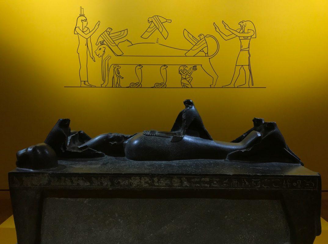 """Osiris' missing phallus in """"Egypt's Sunken Cities"""""""