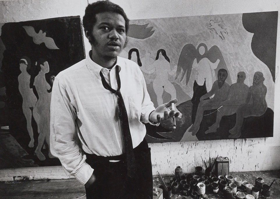 Bob Thompson in a photo from the Archives of American Art, Smithsonian Institution, Washington, D.C.