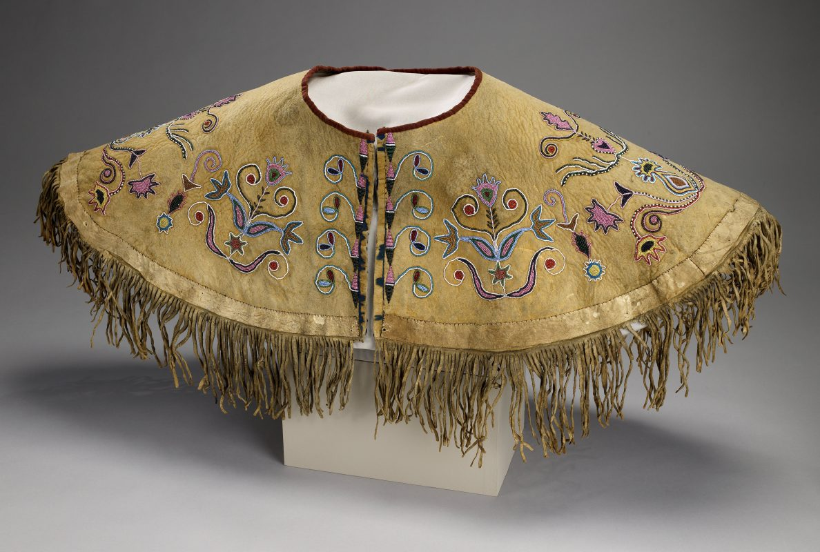 A cape by an unnamed Dakota artist