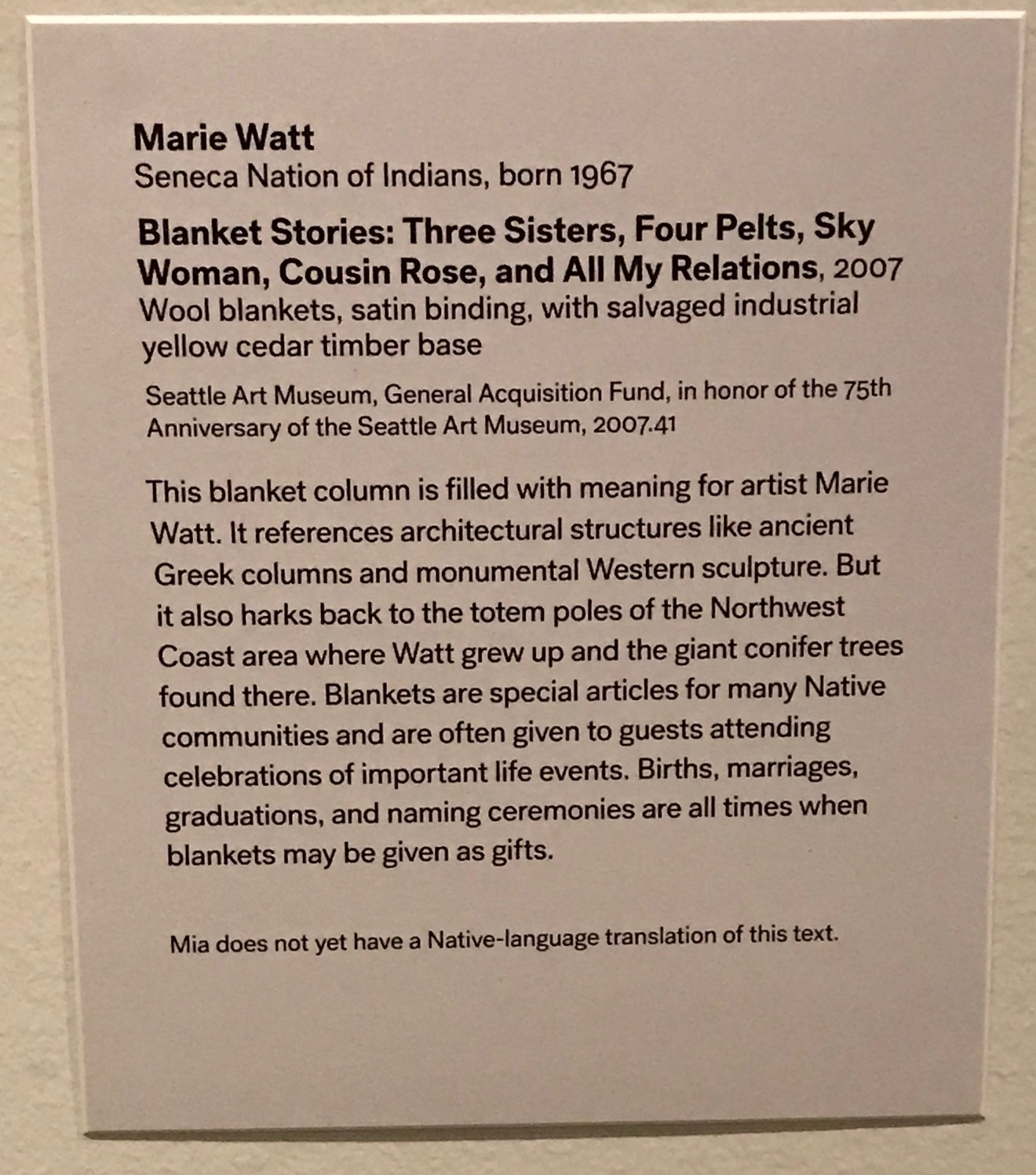 Hearts of Our People: Native Women Artists –– Minneapolis