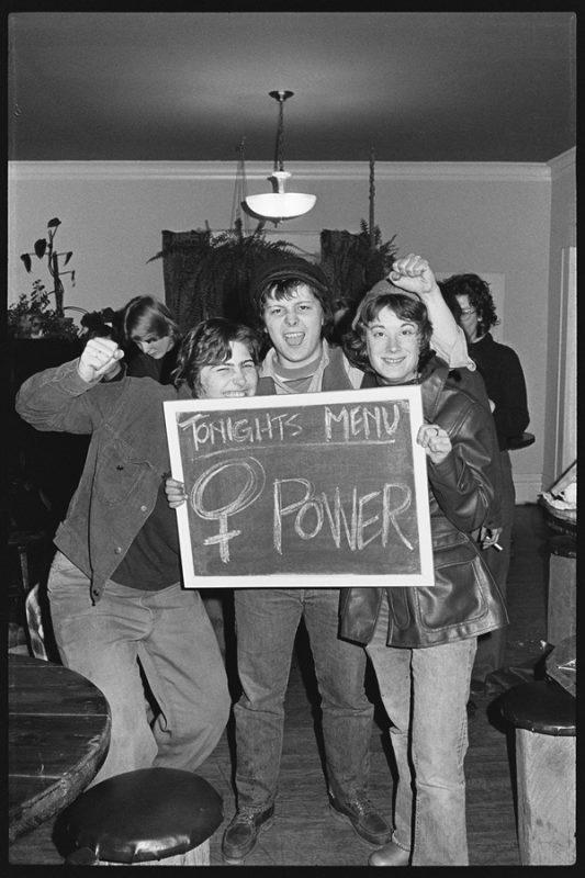 "Meadow Muska's ""Tonight's Menu: WOMAN POWER!"" from 1976."