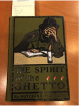 """The Spirit of the Ghetto,"" a rare 1902 book in the collection of the Minneapolis Institute of Art library."