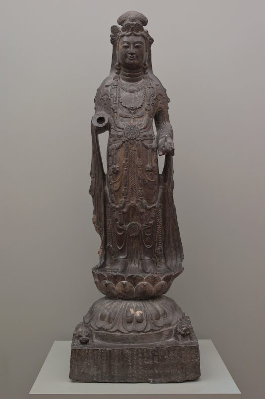 A standing bodhisattva from 571