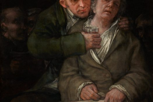Painting by Goya of his doctor