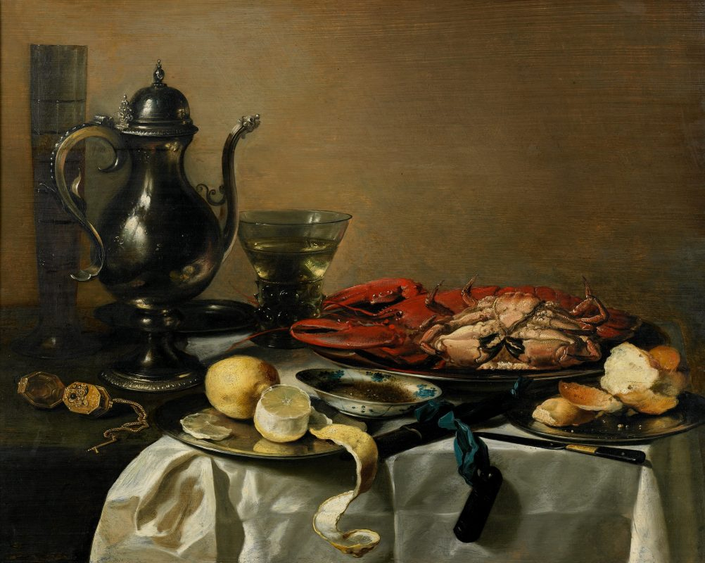 Still Life by Pieter Claesz from 1643.